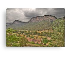 Guardians Of The Valley - Capertee Valley - The HDR Experience Canvas Print