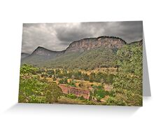 Guardians Of The Valley - Capertee Valley - The HDR Experience Greeting Card