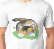 Kitten has a Spider on her Tail Unisex T-Shirt