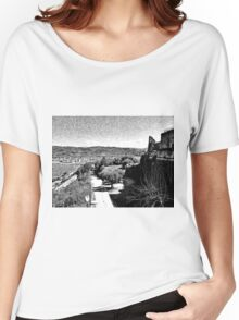 Agropoli: sea cost and castle Women's Relaxed Fit T-Shirt
