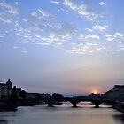 Sundown in Florence by Karen E Camilleri