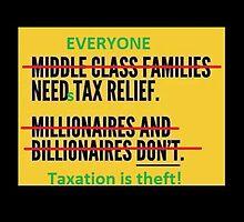 Taxation is Theft by JLDVoluntaryist