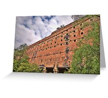 Man O War - Glen Davis Shale Mining Ruins - The HDR Experience    Greeting Card
