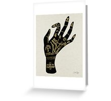 Palmistry Greeting Card