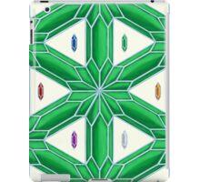 Rupee Stars - Green Rupees iPad Case/Skin