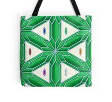 Rupee Stars - Green Rupees Tote Bag