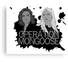 Regina and Emma - Operation Mongoose Canvas Print