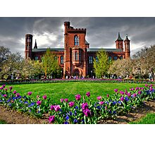 The Smithsonian Castle Photographic Print
