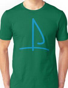 Sail boat logo Unisex T-Shirt