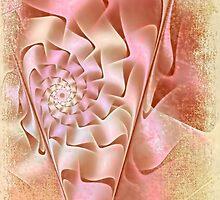 Tea Rose Spiral  by Amar-Images