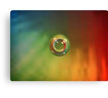 Spectral Lens Canvas Print