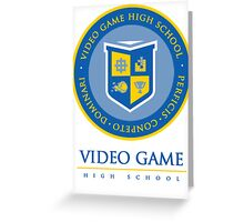 Video Game High School Greeting Card