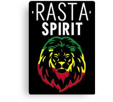 RASTA SPIRIT WHITE Canvas Print