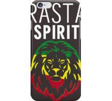 RASTA SPIRIT WHITE iPhone Case/Skin