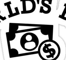 World's best sales clerk Sticker