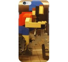 Lego Bicyclist, Lego Store Rockefeller Center, New York City  iPhone Case/Skin