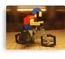 Lego Bicyclist, Lego Store Rockefeller Center, New York City  Canvas Print