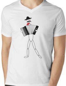 accordionality Mens V-Neck T-Shirt