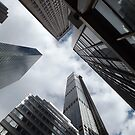 Skyscrapers on Madison Avenue, New York City by lenspiro