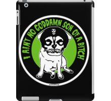 where pugs dare iPad Case/Skin