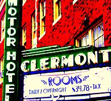 Clermont Motel by jim shriver