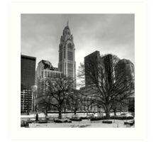 LeVeque Tower Art Print