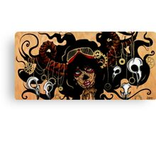 Miss Mesmer Canvas Print