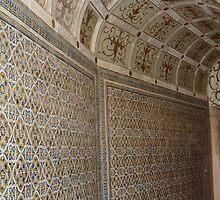 Tomar, Convento doi Christo, Claustro das Lavagems - Azulejos by presbi