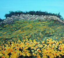 Broom Flowers, Capri by Carole Russell