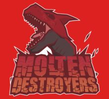 Monster Hunter All Stars - Molten Destroyers by bleachedink