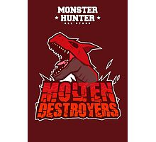 Monster Hunter All Stars - Molten Destroyers Photographic Print