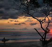 sunset in paradise by gabryshak
