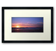 Kingscliff Sunrise Framed Print
