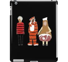 Abed Troy and Britta Halloween 2012 iPad Case/Skin