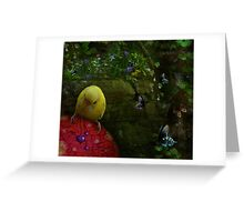 Deep In The Forest Of Dreams Greeting Card
