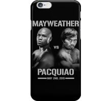 Mayweather vs Pacquiao iPhone Case/Skin
