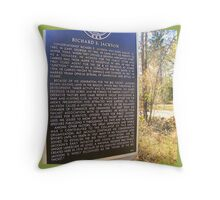 The Big Thicket In SE Texas Throw Pillow