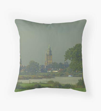 dutch city Zutphen Throw Pillow