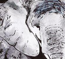 Elephant by artbasik