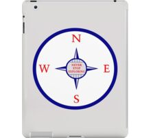 Never Stop Exploring (Blue edition) iPad Case/Skin