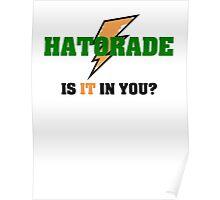 Hatorade- Parody Poster