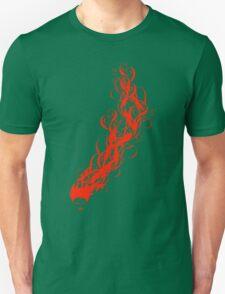 fiery Unisex T-Shirt