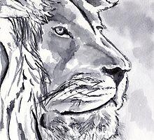 Lion by artbasik