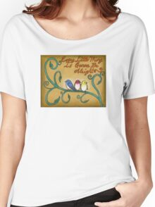 Three Little Birds Women's Relaxed Fit T-Shirt