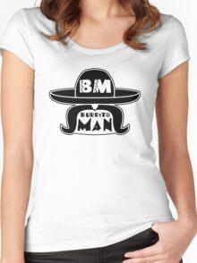 Burrito Man Women's Fitted Scoop T-Shirt