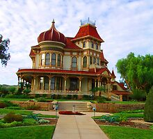 A HERITAGE HOUSE IN REDLANDS, CA by SANDRA BROWN
