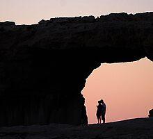 Azure Window in Gozo by narabia