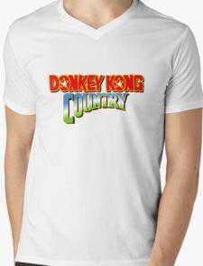 Donkey Kong Country Mens V-Neck T-Shirt