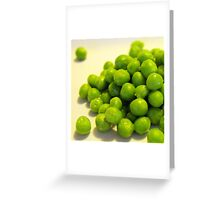 Buttered Peas Greeting Card