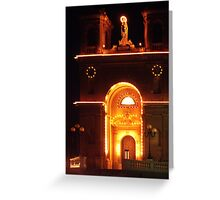 Lights of Marsaxlokk Parish Church Greeting Card